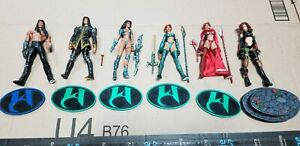 Witchblade Action Figure Set