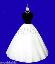 Extra Full A-line Hoopless Bridal Wedding Gown Crinoline Petticoat Skirt Slip