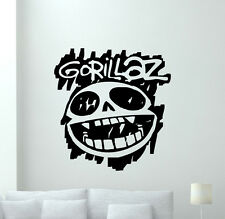 Gorillaz Wall Decal Rock Music Vinyl Sticker Teen Kids Art Decor Home Mural 1sss