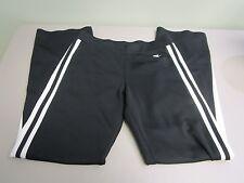 Nike Pants Athletic Running Exercise Boot Cut Black/White Women'S Size S 4-6 Euc