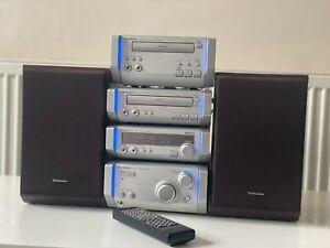 Technics HD505 HiFi System CD Player/ Cassette Deck/ Radio FM AM with Speakers