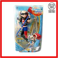 "DC Comics Super Hero Girls Harley Quinn 12"" Action Figure Doll Mattel Boxed"