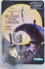 "MAYOR The Nightmare Before Christmas 3 3/4"" inch Reaction Retro Figure 2014"