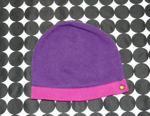 Girl's Baby Gap Sapphire Collection Purple Pink Knit Beanie Hat Size M/L 3/4/5