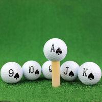 Eg _ Poker Palla da Golf Gomma Sport Outdoor Principiante Pratica Allenamento