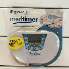 VitaCarry medtimer Automatic Pill Reminder 7 Compartment Fully Sealed Alarm Dig