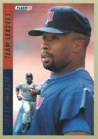 1993 Fleer Team Leaders Baseball Cards Pick From List