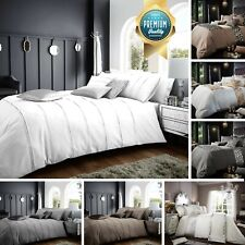 Ultra Soft Duvet Cover Set Cosy Quilt Cover & Pillowcase Single Double King Size