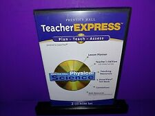 Prentice Hall Teacher Express Physical Science 2-Disc CD ROM B510