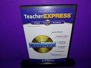 Prentice Hall Teacher Express Physical Science 2-Disc CD ROM B510