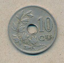 België/Belgique 10 ct. Leopold II 1902 Fr Morin 258 (134770)
