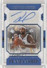 2018-19 Panini National Treasures Penmanship /99 DeMarcus Cousins #PM-DMC Auto