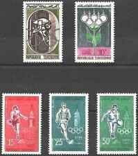 Timbres Sports JO Tunisie 515/9 ** (49386AM)