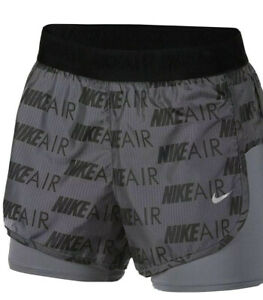 NIKE Women's Air Shorts 2 in 1 NFS CT7366-021 NWT $35.00 NEW NWT FAST SHIPPING