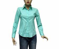 Slim-fit Damen Bluse Gr.XL mintgrün