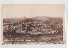 RPPC,Ridgway,PA.Bird's Eye View,Elk County,Used,Flag Cancel,Ridgway,1906