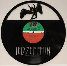 Led Zeppelin ZoSo Laser Cut Black Vinyl Lp Record Ltd Edition Wall Art Display