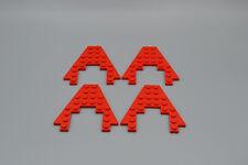 Cuña de 4 x LEGO rojo alas 8 x 8 con barco de corte 4 x 4 arco | Placa roja 4475