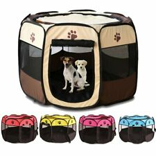 Pet Playpen Foldable Portable Dog/Cat/Puppy Kennel for Small and Large
