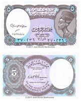 Egypt 5 Piastres 1998-99 P-188  Banknotes  UNC