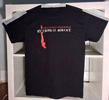 My Chemical Romance Shirt Size M Eyeball First T-Shirt Bullets Unworn Vintage