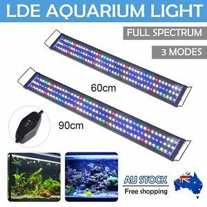 90cm Aquarium Light Lighting Full Spectrum Aqua Plant Fish Tank Bar LED Lamp AU