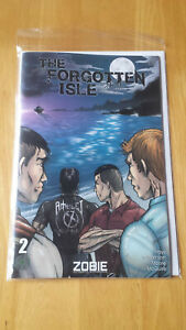Zobie Fright Pack The Forgotten Isle Comic Book - Issue 2 - Exclusive Cover
