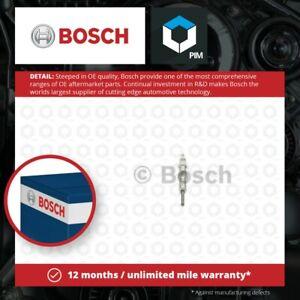 Glow Plugs Set 4x fits NISSAN Bosch 1106500Q0E Genuine Top Quality Guaranteed