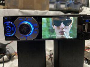 "SOUNDSTREAM 3.4"" DVD USB Aux STEREO RADIO Single Din"
