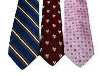 Lot Of 3 Brooks Brothers Tie Makers and 346 Pure Silk Ties MADE IN USA/ITALY
