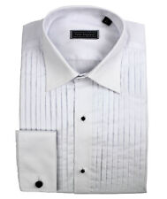 Peter England Machine Pleat Classic Collar Cotton  Dress Shirt