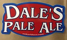 OSKAR BLUES BREWING Dale's Pale Ale Diecut STICKER Decal Craft Beer Brewery NEW