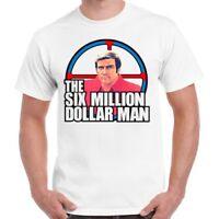 The Six Million Dollar Man Steve Austin 70s Tv Show Retro T Shirt 53