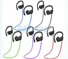 Wireless USB Stereo Bluetooth V4.1+EDR Sporty Earphone Headset Headphone Purple