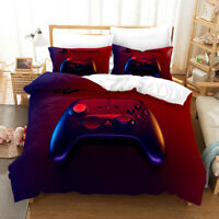 3D Play Station Bedding Set Duvet Cover and Pillowcase Twin Full Queen King