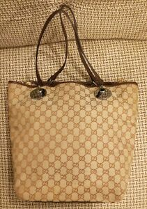 Gucci GG monograme tote bag 120836-002058
