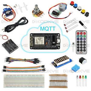 NodeMCU IoT Starter Kit  ESP8266 Tutorial  MQTT WIFI Programming Learning