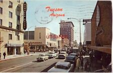 TUCSON, AZ LOOKING SOUTH ON STONE toward Walgreens 1966