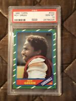 1986 Topps Football #332 Roy Green PSA 10 Gem Mint