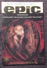 1992 Epic Anthology #1 Nm Hellraiser - Dave McKean Cover