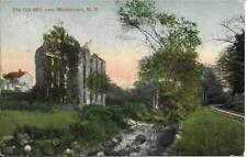 The Old Mill near Middletown NY Handsome Vintage postcard used in 1912