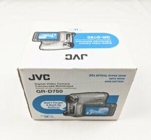 NEW JVC GR-D750U 34x Optical/800x Digital Zoom MiniDV Camcorder