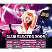 1165 // CLUB ELECTRO 2009 COFFRET 3 CD NEUF 56 TITRES