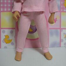 Fits 16 Inch Sasha Doll .... Pink Glitter Leggings .. Doll Clothes ... D161
