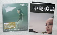 Mika Nakashima Forget Me Not 2016 Taiwan CD only+flyer