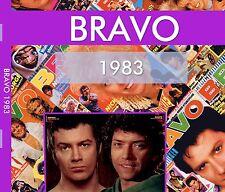 BRAVO 1983 - Alle Ausgaben des Jahres komplett im pdf Format - IM DIGIPACK