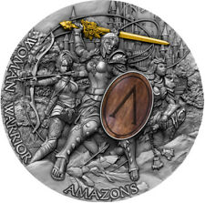 2 Ounce Silver Antique Woman Warrior - Amazons 5$ Niue 2019 silber