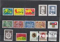 Briefmarken Liechtenstein postfrisch 1969 kompletter Jahrgang Liechtenstein xx 1