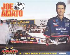 1998 Joe Amato Tenneco Automotive Top Fuel NHRA postcard