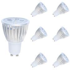 6er 5W LED GU10 Lampe,LED Spot Strahler Energiesparlampe Warmweiß 3000K 350LM